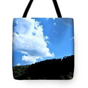 Hills And Sky Tote Bag