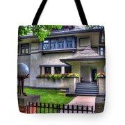 Hills-decaro House Tote Bag
