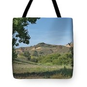 Hills In Peters Canyon Tote Bag