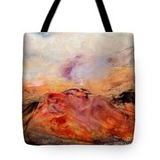 Hills In The Autumn Tote Bag