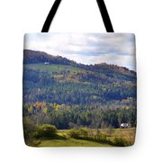Hills Of Vermont Tote Bag