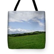 Hills Touching The Sky. Tote Bag