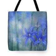Hillside Blues Tote Bag by Priska Wettstein