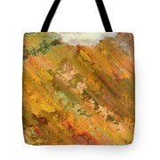 Hillside Flowers I Tote Bag