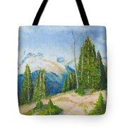 Hillside In Spring, 9x12, Oil, '07 Tote Bag