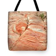 Hillside Of Color In Valley Of Fire Tote Bag