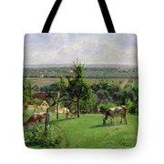 Hillside Of Vesinet Tote Bag