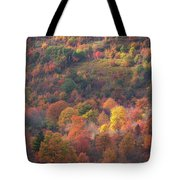 Hillside Rhythm Of Autumn Tote Bag