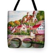 Hillside Village Tote Bag
