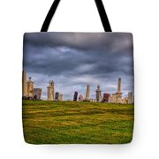 Hilltop Graveyard Tote Bag