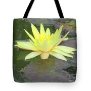 Hilo Water Lily 4 Tote Bag