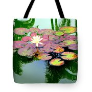 Hilo Water Lily 5 Tote Bag