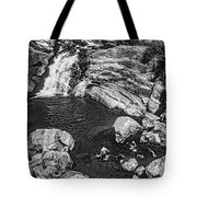 Himalayan Bath Bw Tote Bag