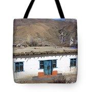 Himalayan Homestead, Muktinath, Nepal Tote Bag