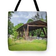 Hindman Memorial Covered Bridge Tote Bag