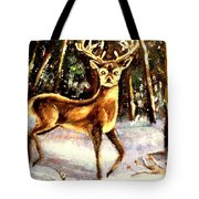Hinds Feet Tote Bag
