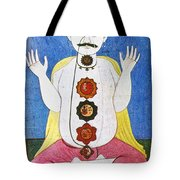 Hindu Chakras Wheels Tote Bag