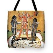 Hindu Goddess: Kali Tote Bag