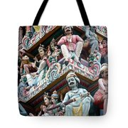 Hindu Temple Little India Singapore Tote Bag