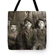 Hine: Breaker Boys, 1911 Tote Bag