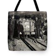 Hine: Coal Miners, 1911 Tote Bag