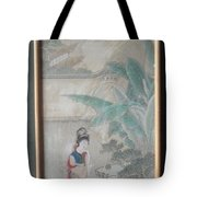 Hinese Painting Tote Bag