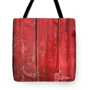 Hinge On A Red Barn Tote Bag