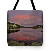 Hinson Lake Clouds Tote Bag