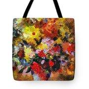 Hint Of Klimt Tote Bag