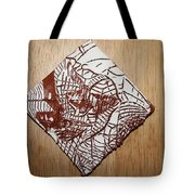 Hints Of Life - Tile Tote Bag