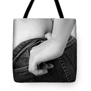 Hip Check Tote Bag