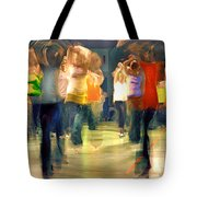 Hip Hop Dance Night Tote Bag by Robert Lacy