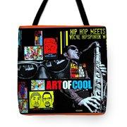 Hip Hop Meets Vocal Hipspoken' Word Jazz Tote Bag
