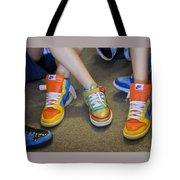 Hip Hop Shoes Tote Bag