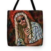 Hippy Indian Tote Bag