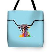 Hipster Longhorn Tote Bag