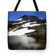 Hiram Peak Glaciers Tote Bag