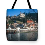 Hirschhorn Village On The Neckar Tote Bag