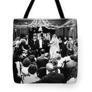 His Last False Step, 1919 Tote Bag