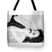His Sweet Scent Lingers - Self Portrait Tote Bag