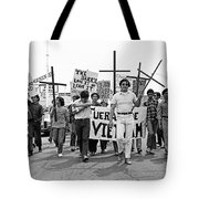 Hispanic Anti-viet Nam War March 1 Tucson Arizona 1971 Tote Bag