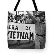 Hispanic Anti-viet Nam War March 2 Tucson Arizona 1971 Tote Bag