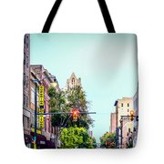 Historic Alabama And Lyric Theatres Tote Bag