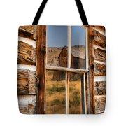 Historic Bannack Mining Reflections Tote Bag