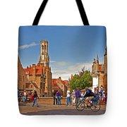 Historic Bruges Tote Bag