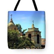 Historic Carmel Mission Tote Bag