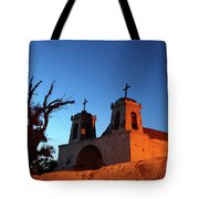 Historic Chiu Chiu Church Chile Tote Bag