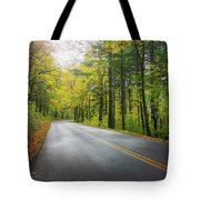 Historic Columbia River Highway In Fall Tote Bag