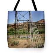 Historic Dewey Bridge Tote Bag