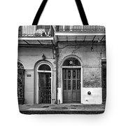 Historic Entrances Bw Tote Bag